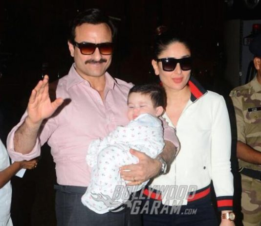 Kareena Kapoor, Saif Ali Khan, Taimur Ali Khan head to Switzerland for their first family vacation!
