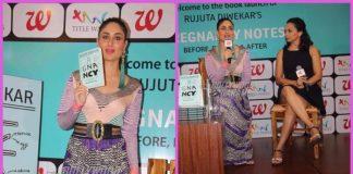 Kareena Kapoor launches Rujuta Diwekar's book Pregnancy Notes – Photos