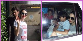 Karisma Kapoor spends quality time with her kids at a café in Mumbai – Photos!