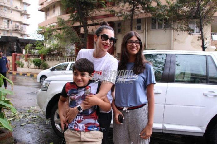 Karisma with kids-7
