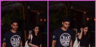 Kunal Khemu and Soha Ali Khan snapped on a casual stroll – Photos