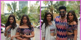 Arjun Kapoor, Ileana D'Cruz and Athiya Shetty promote Mubarakan sans Anil Kapoor