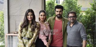 Athiya Shetty, Ileana D'Cruz and Arjun Kapoor at Mubarakan photoshoot in Delhi