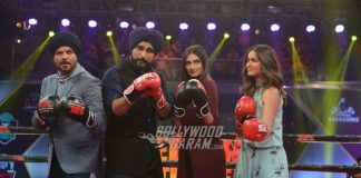 Cast of Mubarakan fight it out at Super Boxing League