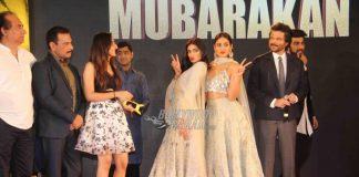 Video – Live footage from Mubarakan Sangeet Ceremony with entire lead cast!