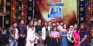 Lead cast of Munna Michael dances with the contestants on Sa Re Ga Ma Pa Lil Champs! – Photos