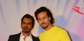 Tiger Shroff and Nawazuddin Siddiqui have fun at Munna Michael promotions