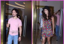 Tiger Shroff and Disha Patani arrive together for premiere of Munna Michael