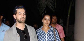 Neil Nitin Mukesh and Rukmini Sahay spotted at Mumbai airport – Photos!