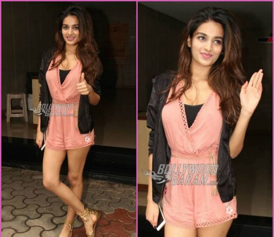 Video – Nidhhi Agerwal flaunts trendy street style as she interacts with fans!
