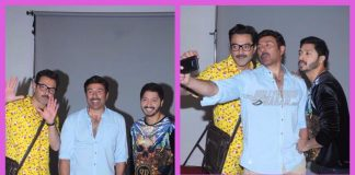 PHOTOS – Sunny Deol, Bobby Deol, Shreyas Talpade at Poster Boys photoshoot!