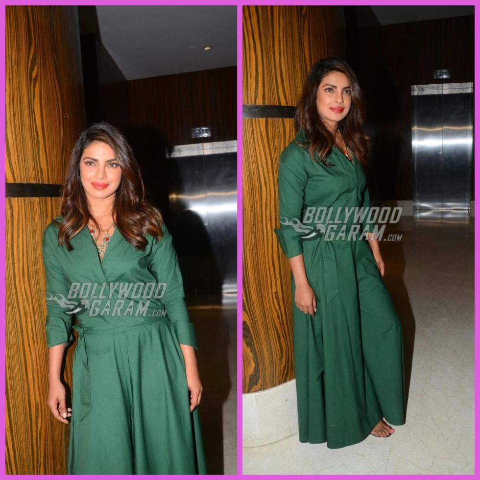 Priyanka Chopra at Press Conference of Mararthi Movie Kaay Re Raaskalaa