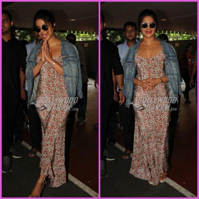 Priyanka chopra airport