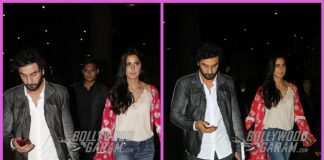 Ranbir Kapoor and Katrina Kaif return from Delhi Jagga Jasoos promotions