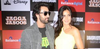 Ranbir Kapoor, Katrina Kaif promote Jagga Jasoos at Reliance Trends – Photos