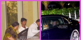 Photos – Aditya Chopra, Rani Mukherji, Pamela Chopra step out for family dinner!