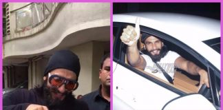 Ranveer Singh photographed all over Mumbai on his 32nd birthday