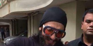 Video – Ranveer Singh celebrates 32nd birthday with die-hard fans!