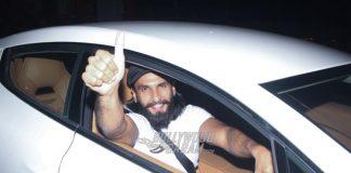 Video – Ranveer Singh spotted exiting Deepika Padukone's residence!