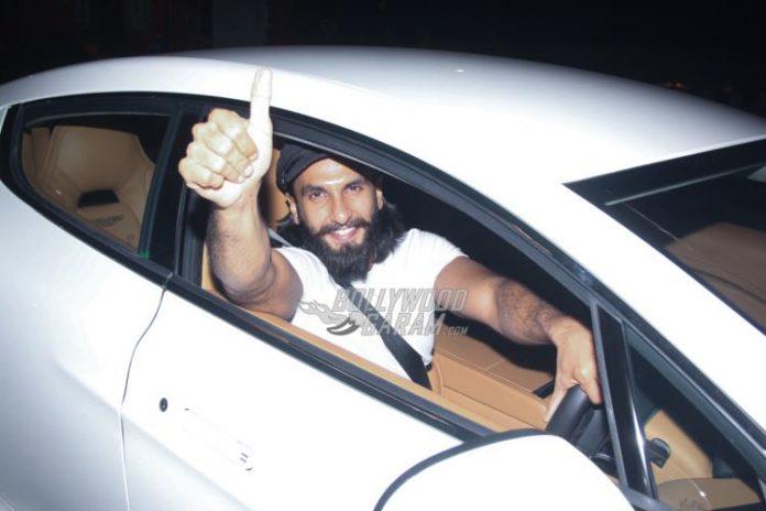 Ranveer Singh snapped-4