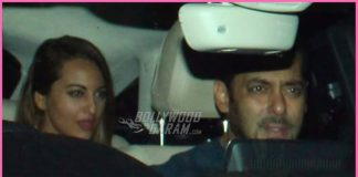 Salman Khan takes Iulia Vantur, Sonakshi Sinha for a ride in his brand new car! – Photos