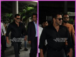 Salman Khan makes a dazzling appearance at Mumbai airport