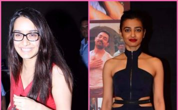 Video – Shraddha Kapoor, Radhika Apte at Lipstick Under My Burkha movie screening
