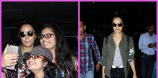 Shraddha Kapoor mobbed by fans at the airport