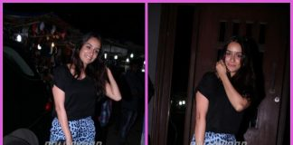 Shraddha Kapoor unwinds at a trendy restaurant in the city