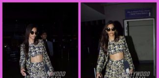 Sonam Kapoor dazzles at the airport on her return from Paris Haute Couture Week