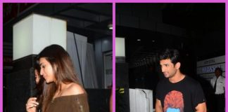 PHOTOS – Sushant Singh Rajput and Kriti Sanon snapped on a cozy dinner date!