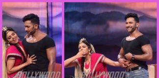 Terence Lewis has fun with Sugandha Mishra on sets of The Drama Company