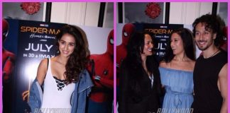 Tiger Shroff's family and girlfriend Disha Patani at special screening of Spider-Man: Homecoming