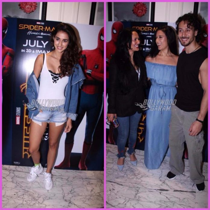 Tiger shroff screening