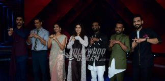 Akshay Kumar and Bhumi Pednekar promote Toilet: Ek Prem Katha on sets of Dance Plus