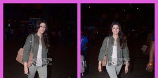 Twinkle Khanna photographed returning from Europe trip