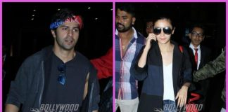 Varun Dhawan, Alia Bhatt return from IIFA Awards 2017 – Photos!