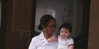 Kareena Kapoor's son Taimur Ali Khan enjoys his stay at grandmother Babita's house! – Photos