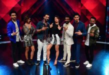 A Gentleman actors Jacqueline Fernandez and Sidharth Malhotra promote their film on the sets of Dance Plus