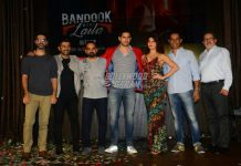 Jacqueline Fernandez and Sidharth Malhotra launch song Bandook Meri Laila from A Gentleman