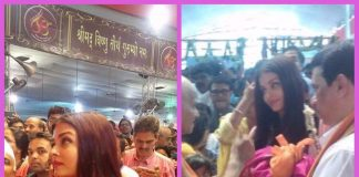 Aishwarya Rai Bachchan and Aaradhya Bachchan offer prayers at Ganesh Pandal in Mumbai