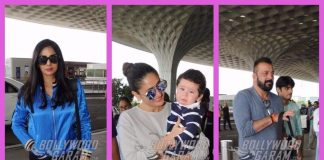 Sridevi, Sanjay Dutt and Kareena Kapoor brighten up airport lobby