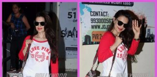 Ameesha Patel photographed spending some casual time
