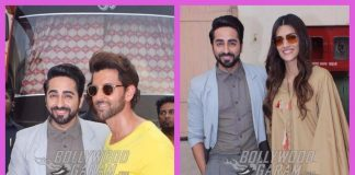 Bareilly Ki Barfi actors bump in to Hrithik Roshan at a film studio