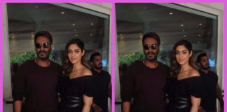 Ajay Devgn and Ileana D'Cruz promote Baadshaho at press event