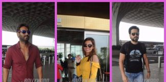 Baadshaho actors photographed at the airport as they leave for Delhi promotions