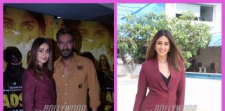 Ajay Devgn and Ileana D'Cruz promote Baadshaho in Mumbai