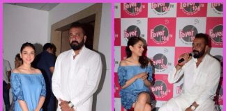 Sanjay Dutt and Aditi Rao Hydari promote Bhoomi at Fever FM