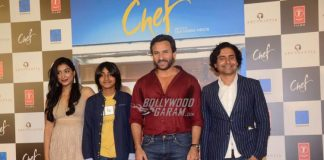 Saif Ali Khan launches official trailer of new film, Chef at an event in Mumbai