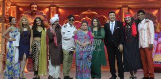 Ankit Tiwari, Manoj Muntashir and Geeta Kapoor have fun on the sets of Comedy Dangal